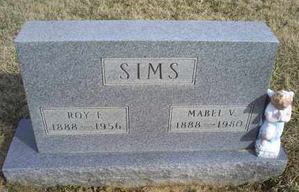 SIMS, MABEL V. - Ross County, Ohio | MABEL V. SIMS - Ohio Gravestone Photos