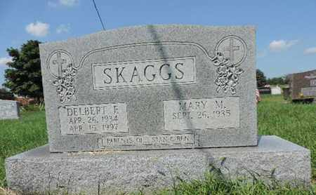 SKAGGS, DELBERT F - Ross County, Ohio | DELBERT F SKAGGS - Ohio Gravestone Photos