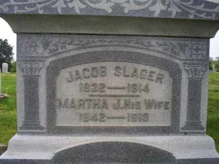 SLAGER, MARTHA J. - Ross County, Ohio | MARTHA J. SLAGER - Ohio Gravestone Photos