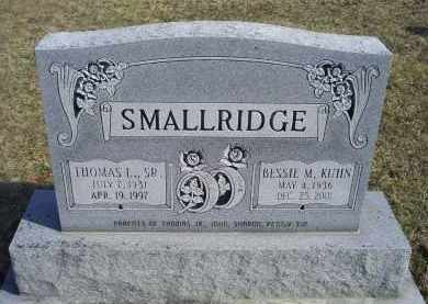SMALLRIDGE, THOMAS L. SR. - Ross County, Ohio | THOMAS L. SR. SMALLRIDGE - Ohio Gravestone Photos