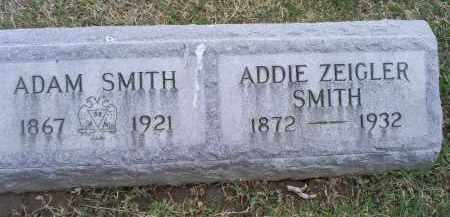 SMITH, ADAM - Ross County, Ohio | ADAM SMITH - Ohio Gravestone Photos
