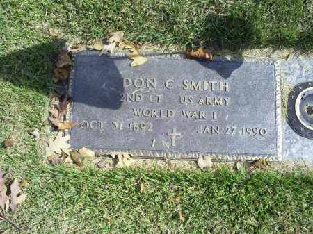 SMITH, DON C. - Ross County, Ohio | DON C. SMITH - Ohio Gravestone Photos