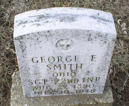 SMITH, GEORGE F. - Ross County, Ohio | GEORGE F. SMITH - Ohio Gravestone Photos