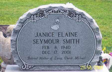 SMITH, JANICE ELAINE - Ross County, Ohio | JANICE ELAINE SMITH - Ohio Gravestone Photos