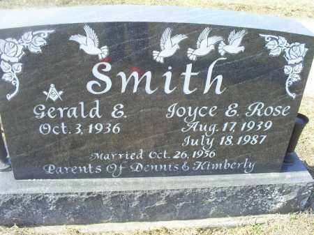 SMITH, JOYCE E. - Ross County, Ohio | JOYCE E. SMITH - Ohio Gravestone Photos