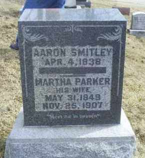 PARKER SMITLEY, MARTHA - Ross County, Ohio | MARTHA PARKER SMITLEY - Ohio Gravestone Photos