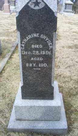 SNYDER, CATHARINE - Ross County, Ohio | CATHARINE SNYDER - Ohio Gravestone Photos
