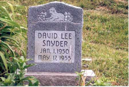 SNYDER, DAVID LEE - Ross County, Ohio | DAVID LEE SNYDER - Ohio Gravestone Photos