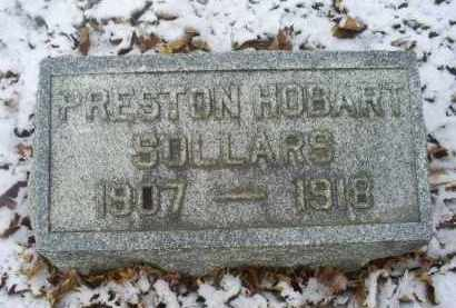 SOLLARS, PRESTON HOBART - Ross County, Ohio | PRESTON HOBART SOLLARS - Ohio Gravestone Photos