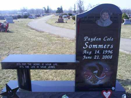 SOMMERS, PAYDEN COLE - Ross County, Ohio | PAYDEN COLE SOMMERS - Ohio Gravestone Photos