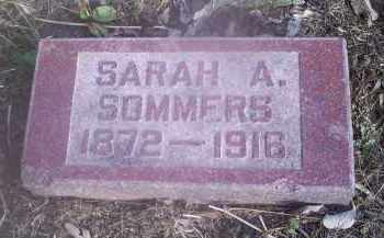 SOMMERS, SARAH A. - Ross County, Ohio | SARAH A. SOMMERS - Ohio Gravestone Photos