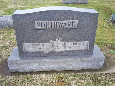 SOUTHWARD, HAROLD E. - Ross County, Ohio | HAROLD E. SOUTHWARD - Ohio Gravestone Photos
