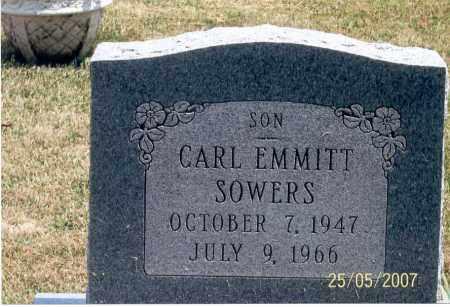 SOWERS, CARL EMMITT - Ross County, Ohio | CARL EMMITT SOWERS - Ohio Gravestone Photos