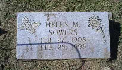 SOWERS, HELEN M. - Ross County, Ohio | HELEN M. SOWERS - Ohio Gravestone Photos