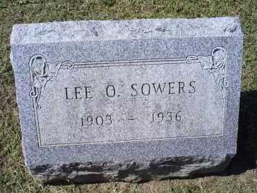 SOWERS, LEE O. - Ross County, Ohio | LEE O. SOWERS - Ohio Gravestone Photos