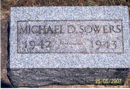 SOWERS, MICHAEL - Ross County, Ohio | MICHAEL SOWERS - Ohio Gravestone Photos
