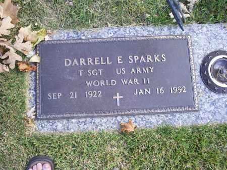 SPARKS, DARRELL E. - Ross County, Ohio | DARRELL E. SPARKS - Ohio Gravestone Photos