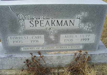 HUPP SPEAKMAN, MIRLA - Ross County, Ohio | MIRLA HUPP SPEAKMAN - Ohio Gravestone Photos