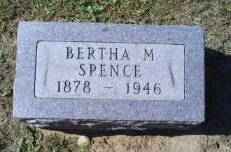 SPENCE, BERTHA M. - Ross County, Ohio | BERTHA M. SPENCE - Ohio Gravestone Photos