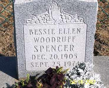 WOODRUFF SPENCER, BESSIE ELLEN - Ross County, Ohio | BESSIE ELLEN WOODRUFF SPENCER - Ohio Gravestone Photos