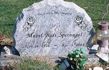 SPETNAGEL, MABEL - Ross County, Ohio | MABEL SPETNAGEL - Ohio Gravestone Photos