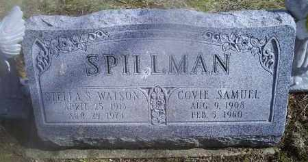 SPILLMAN, STELLA S. - Ross County, Ohio | STELLA S. SPILLMAN - Ohio Gravestone Photos