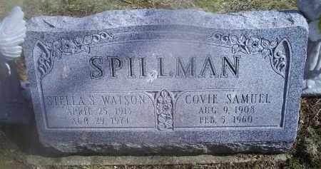 WATSON SPILLMAN, STELLA S. - Ross County, Ohio | STELLA S. WATSON SPILLMAN - Ohio Gravestone Photos