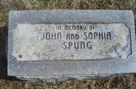 SPUNG, JOHN - Ross County, Ohio | JOHN SPUNG - Ohio Gravestone Photos