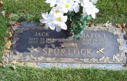SPURLOCK, JACK - Ross County, Ohio | JACK SPURLOCK - Ohio Gravestone Photos
