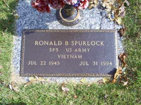 SPURLOCK, RONALD B - Ross County, Ohio | RONALD B SPURLOCK - Ohio Gravestone Photos