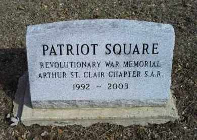 SQUARE, PATRIOT - Ross County, Ohio | PATRIOT SQUARE - Ohio Gravestone Photos