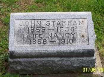 STAFFAN, NANCY - Ross County, Ohio | NANCY STAFFAN - Ohio Gravestone Photos