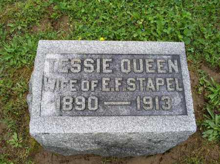 QUEEN STAPEL, TESSIE - Ross County, Ohio | TESSIE QUEEN STAPEL - Ohio Gravestone Photos
