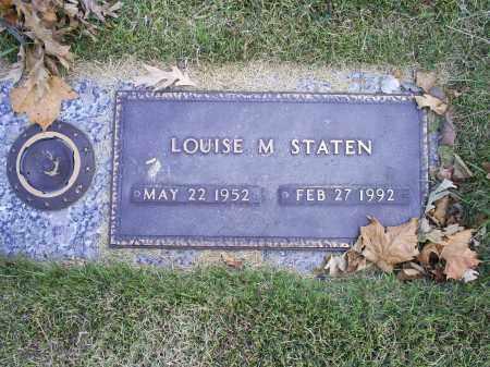 STATEN, LOUISE M. - Ross County, Ohio | LOUISE M. STATEN - Ohio Gravestone Photos
