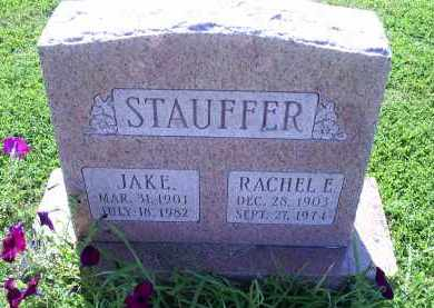 STAUFFER, RAHEL E. - Ross County, Ohio | RAHEL E. STAUFFER - Ohio Gravestone Photos