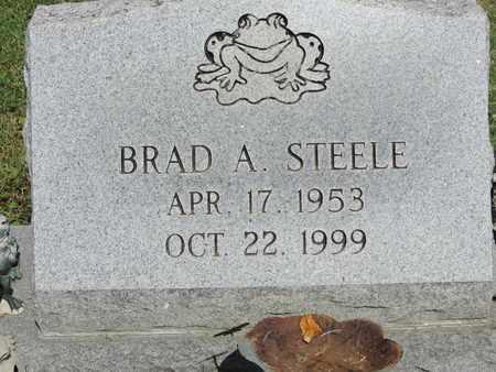 STEELE, BRAD A. - Ross County, Ohio | BRAD A. STEELE - Ohio Gravestone Photos