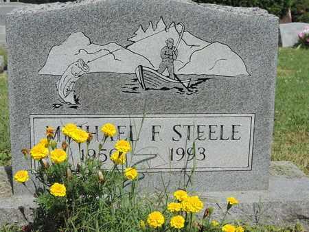 STEELE, MICHAEL F. - Ross County, Ohio | MICHAEL F. STEELE - Ohio Gravestone Photos