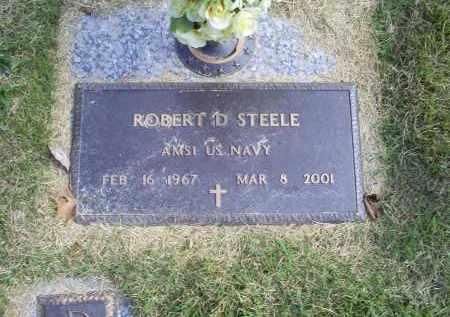 STEELE, ROBERT D. - Ross County, Ohio | ROBERT D. STEELE - Ohio Gravestone Photos