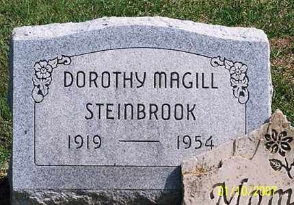MAGILL STEINBROOK, DOROTHY - Ross County, Ohio | DOROTHY MAGILL STEINBROOK - Ohio Gravestone Photos