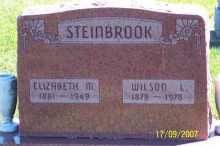 STEINBROOK, ELIZABETH M. - Ross County, Ohio | ELIZABETH M. STEINBROOK - Ohio Gravestone Photos