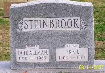 ALLMAN STEINBROOK, OCIE - Ross County, Ohio | OCIE ALLMAN STEINBROOK - Ohio Gravestone Photos