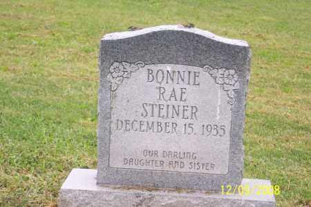 STEINER, BONNIE RAE - Ross County, Ohio | BONNIE RAE STEINER - Ohio Gravestone Photos