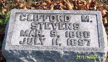 STEVENS, CLIFFORD M. - Ross County, Ohio | CLIFFORD M. STEVENS - Ohio Gravestone Photos