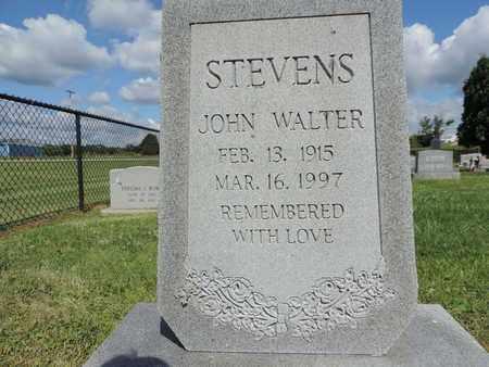 STEVENS, JOHN WALTER - Ross County, Ohio | JOHN WALTER STEVENS - Ohio Gravestone Photos