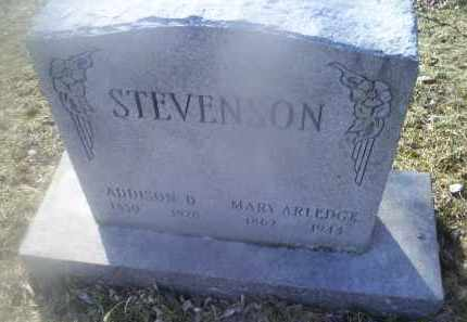 ARLEDGE STEVENSON, MARY - Ross County, Ohio | MARY ARLEDGE STEVENSON - Ohio Gravestone Photos
