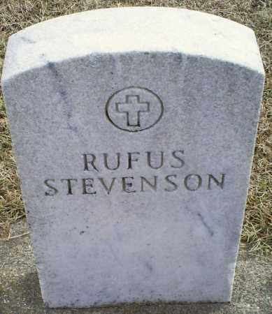STEVENSON, RUFUS - Ross County, Ohio | RUFUS STEVENSON - Ohio Gravestone Photos