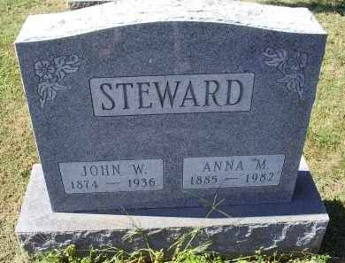 STEWARD, ANNA M. - Ross County, Ohio | ANNA M. STEWARD - Ohio Gravestone Photos