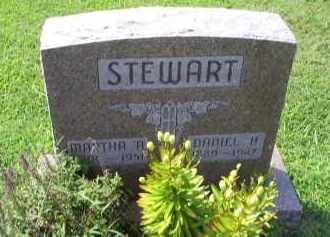 STEWART, DANIEL H. - Ross County, Ohio | DANIEL H. STEWART - Ohio Gravestone Photos