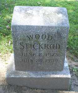 STICKROD, WOOD - Ross County, Ohio | WOOD STICKROD - Ohio Gravestone Photos