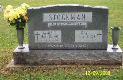 STOCKMAN, JAMES T - Ross County, Ohio | JAMES T STOCKMAN - Ohio Gravestone Photos